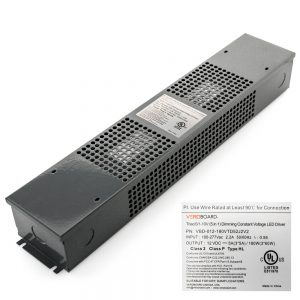 VEROBOARD 12V 180W (3*60W) Triac/0-10V Dimmable LED Driver (Multi Dimming +Junction Box)