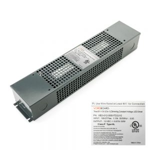 VEROBOARD 12V 80W Triac/0-10V Dimmable LED Driver (Multi Dimming+Junction Box)