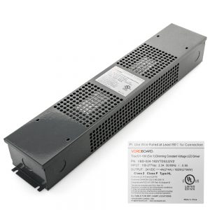 VEROBOARD 24V 192W(2*96W) Triac/ 0-10V Dimmable LED Driver (Multi Dimming+Junction Box)