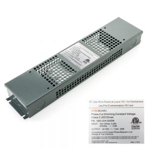 VEROBOARD 24V 1A 24W Dimmable LED Driver VBD-024-024DM
