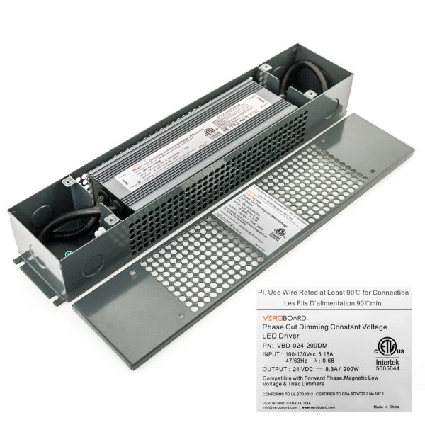 VEROBOARD 24V 8.3A 200W Dimmable VBD-024-200DM