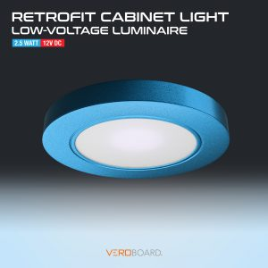VBUN-R25-12V Retrofit Cabinet Light Blue